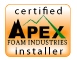 Certified Apex Foam Systems Installer